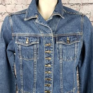 Boston Proper Jackets & Coats - Boston Proper Crop Jean Jacket Size 10